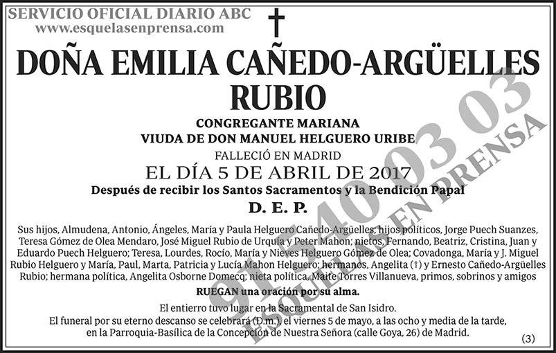 Emilia Cañedo-Argüelles Rubio